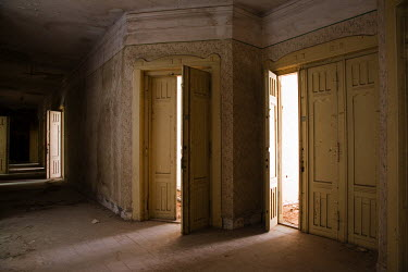 David Henderson OLD CORRIDOR WITH LARGE DOORS Interiors/Rooms