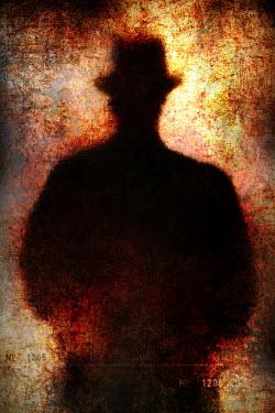 Clayton Bastiani SILHOUETTE OF MAN IN HAT Men