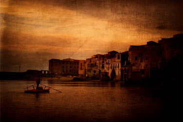 Maurizio Blasetti MAN ON RAFT BY CITY Specific Cities/Towns