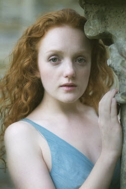 Steve Peet WOMAN WITH RED CURLY HAIR Women