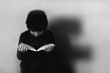 Chris Friel YOUNG BOY READING Children