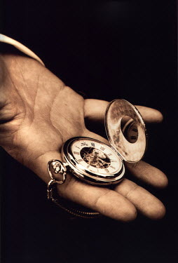 Zodie Hawkins MAN HOLDING POCKET WATCH Miscellaneous Objects