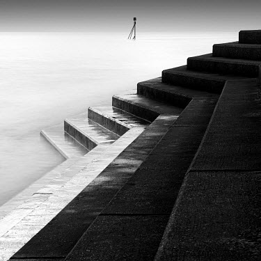 Steve Gosling STONE STEPS DOWN TO SEA Seascapes/Beaches
