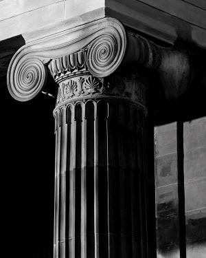 John Cooper STONE GREEK PILLAR Building Detail