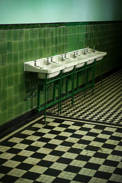Lee Avison FIVE SINKS ON A WALL Interiors/Rooms