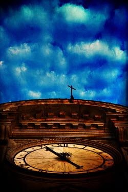 Ricardo Demurez CLOCK TOWER FROM BELOW Religious Buildings