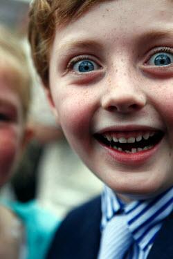 Colin Hutton EXCITED LITTLE BOY Children
