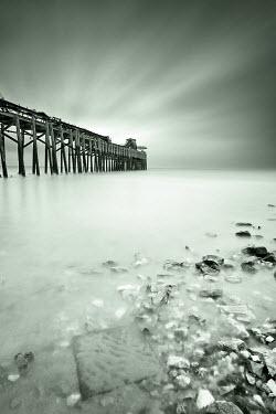 David Johnson PIER OUT TO SEA Seascapes/Beaches