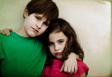 Vanesa Munoz BOY AND GIRL STOOD TOGETHER Children