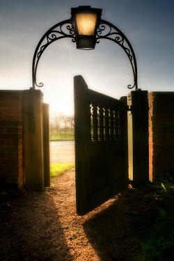 Paul Knight OPEN GATEWAY TO FIELD Gates