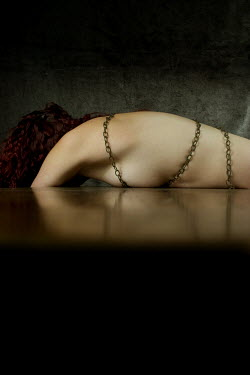 Clayton Bastiani DEAD NAKED WOMAN WITH CHAINS Women