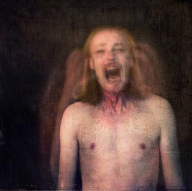 Bianca van der Werf MAN SCREAMING Men