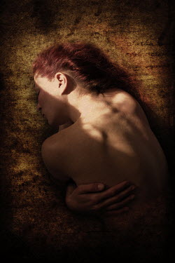 Clayton Bastiani RED HAIRED WOMAN LAYING ON FRONT Women