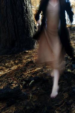 Marico Fayre WOMAN WALKING DOWN HILLSIDE Women