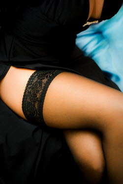Jitka Saniova WOMANS LEGS IN STOCKINGS Body Detail