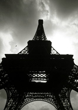 Andy Wilson EIFFEL TOWER IN SILHOUETTE Specific Cities/Towns