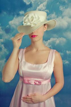 Tom Meadow WOMAN DRESS HAT SKY CLOUDS Women