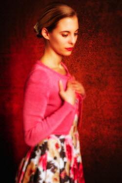 Tom Meadow WOMAN BLONDE DRESS CARDIGAN PINK Women