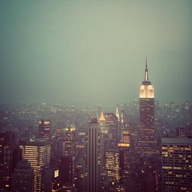 Irene Suchocki NEW YORK CITY SKYLINE LIGHTS Specific Cities/Towns