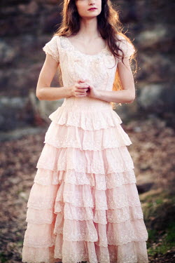 Susan Fox SLIM WOMAN PINK DRESS Women