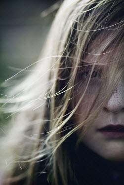 Mark Owen Close-up of girls face Children