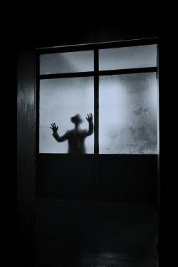 Ralph Graef MAN HAT HANDS WINDOW SHADOW Men