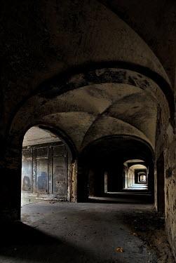 Ralph Graef dark abandoned corridor Interiors/Rooms