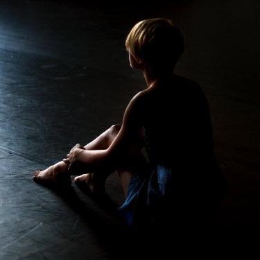 Lara Alegre young women sitting on floor Women