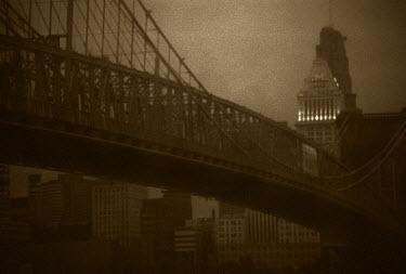 Ron Jones BRIDGE SKYLINE CITY Bridges