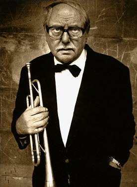 Andrew Davis MAN WITH BOW-TIE HOLDING TRUMPET Old People
