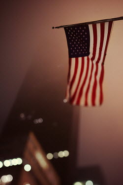 Irene Suchocki US FLAG AND EMPIRE STATE Miscellaneous Objects