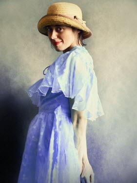 Malgorzata Maj 1930'S WOMAN SMILING WITH HAT Women