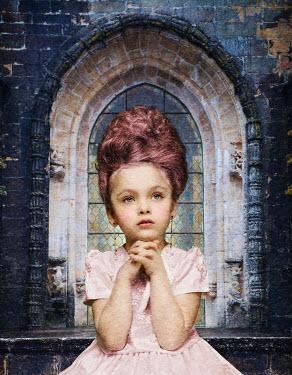Yulya Saponova CHILD PRAYING WITH WINDOW Children