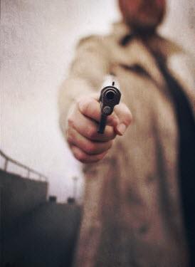 Mark Owen man pointing gun Men