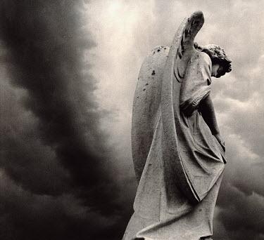 Dennis Mecham statue of angel Statuary/Gravestones