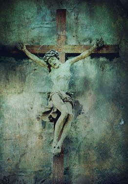 Mark Owen Jesus on the cross Statuary/Gravestones