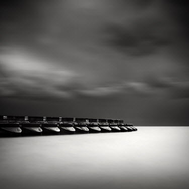 Rob Cherry barrage on coastline Seascapes/Beaches