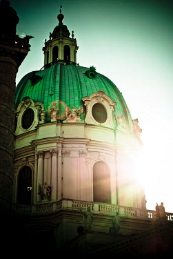 Jacinta Bernard HISTORICAL BUILDING WITH DOME AND STATUES Religious Buildings