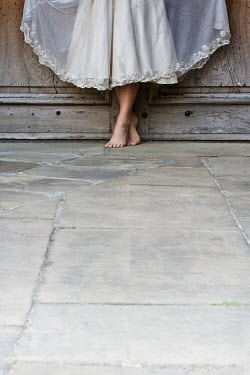 Holly Leedham WOMAN'S BARE FEET BY DOOR Body Detail