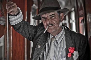 Coltrane Koh 1940'S MAN ON TRAIN Men