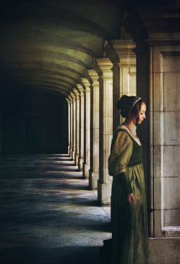 Mark Owen Woman standing under archway Women