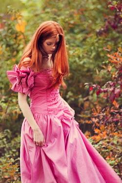 Susan Fox WOMAN IN PINK DRESS Women