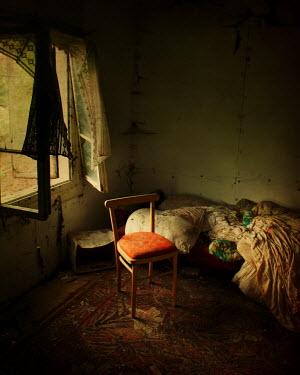 Agnieszka Kielak DERELICT BEDROOM Interiors/Rooms