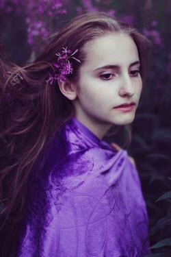 Iness Rychlik Woman in purple Women