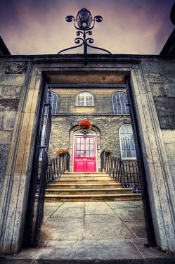 Tim Daniels OLD STONE BUILDING WITH GATEWAY Miscellaneous Buildings