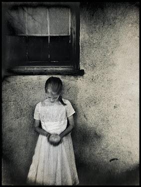 Gary Isaacs GIRL OUTSIDE HOUSE Children