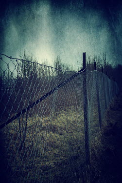 Mohamad Itani Wire fence in field Fields