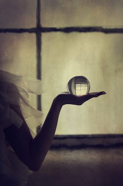 Mohamad Itani HAND OF WOMAN HOLDING CRYSTAL BALL Body Detail