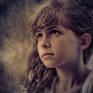Ildiko Neer FACE OF YOUNG SAD GIRL Children