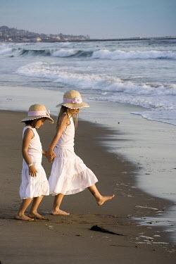 Jennifer Short TWO GIRLS IN WHITE BY SEA Children